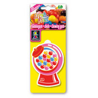 Bubblegum Fresh Fruit, hanging car air freshener.