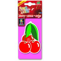 Cherry Fresh Fruit, hanging car air freshener.