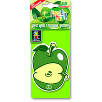 Green Apple Fresh Fruit, hanging car air freshener.