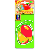 Mango Fresh Fruit, hanging car air freshener.