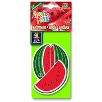 Watermelon Fresh Fruit, hanging car air freshener.