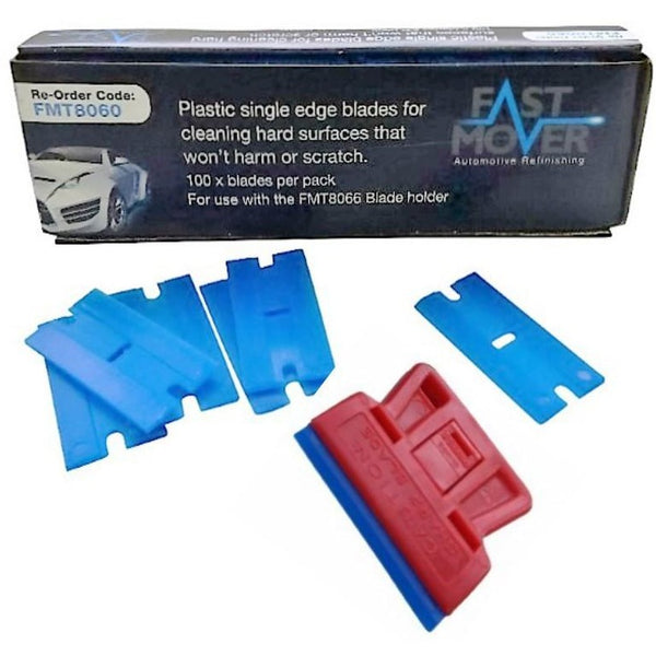 Single Edged Blade Plastic 100pcs per pack