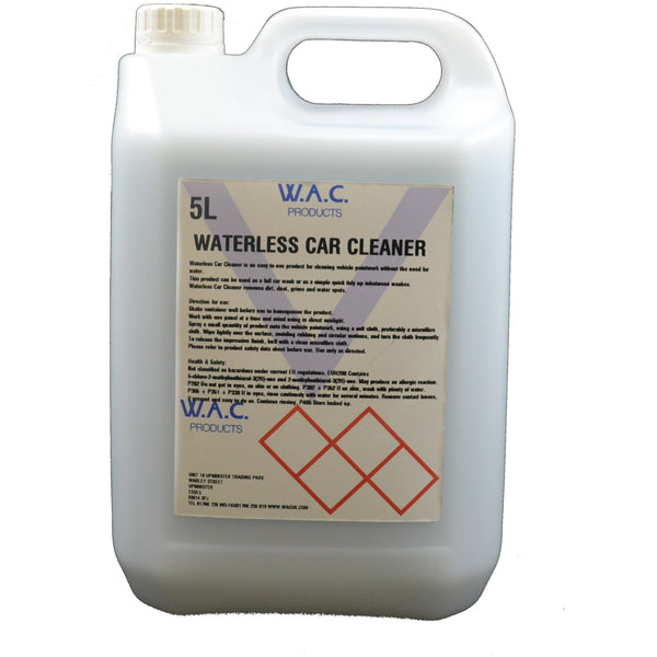WATERLESS CAR CLEANER