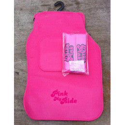 Pink My Ride Car Mats