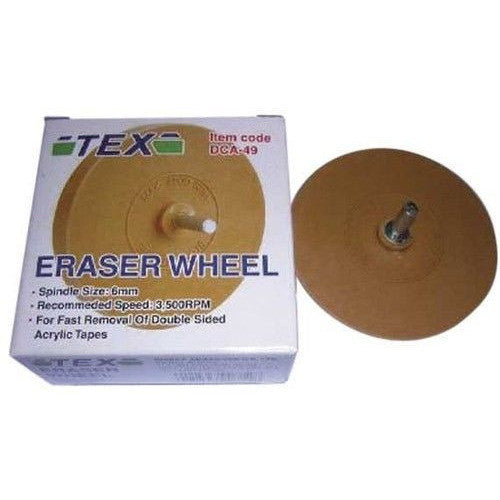 DCA-49  Tex Eraser Wheel For Fast Removal Of Double Sides