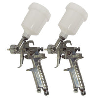 STARCHEM MINI HVLP CHROME SPRAY GUN 0.8MM