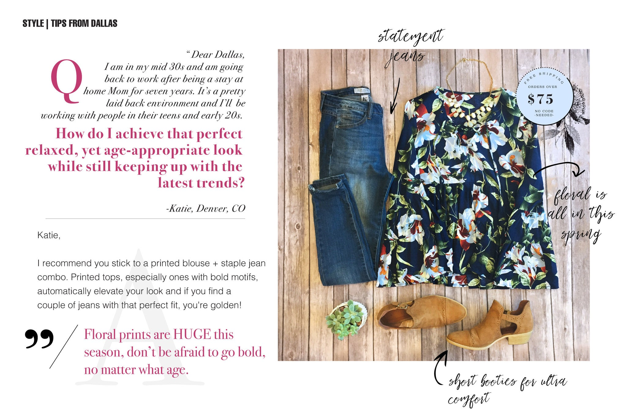 Dear Dallas Styles Tips From Our Favorite Personal Stylist