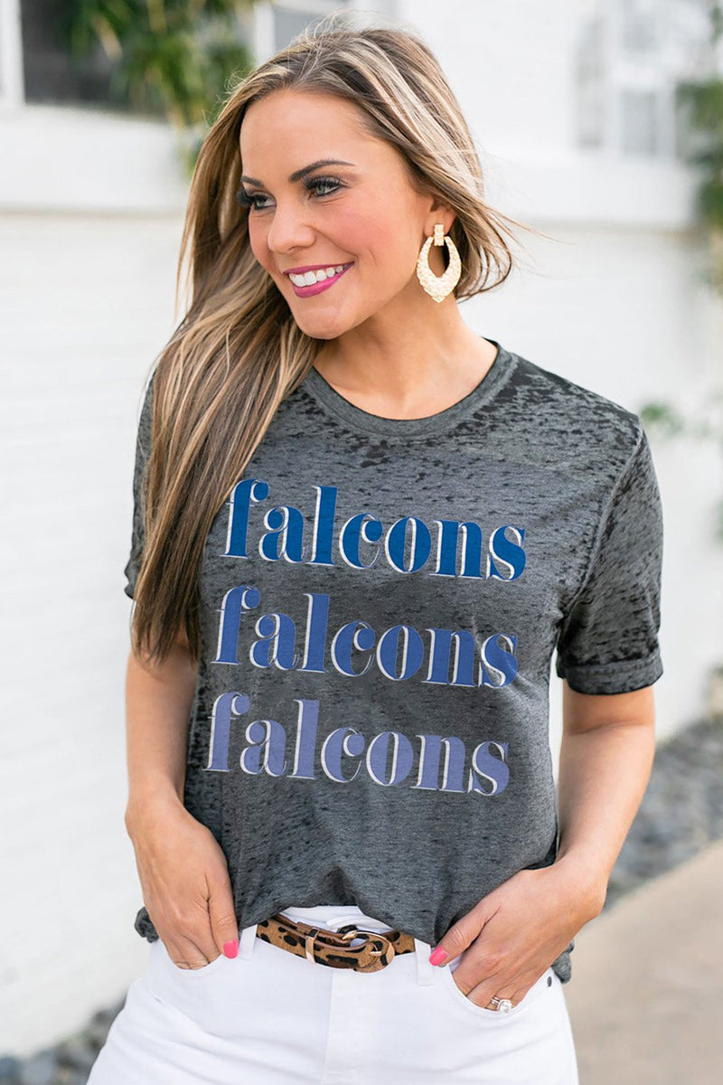 "Air Force Falcons ""Better Than Basic"" Boyfriend Tee - Gameday Couture"