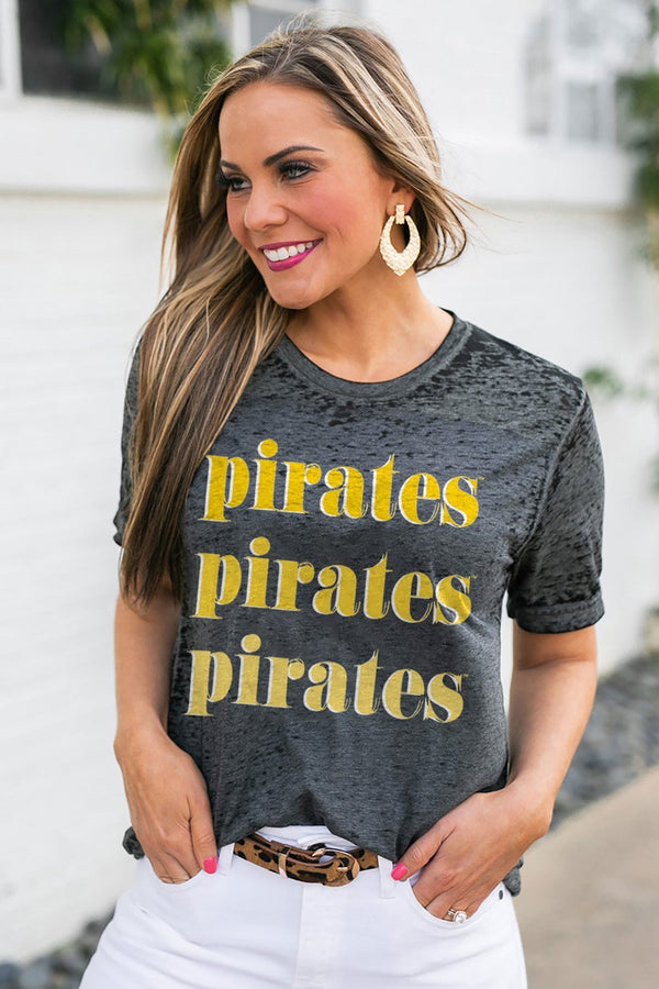 "EAST CAROLINA PIRATES PIRATES ""BETTER THAN BASIC"" BOYFRIEND TEE"