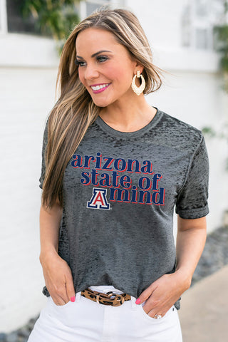 "Arizona Wildcats ""Better Than Basic"" Boyfriend Tee"