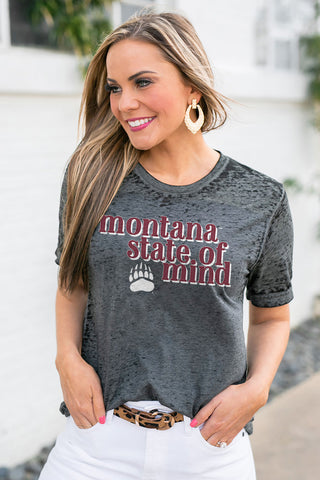 "Montana Grizzlies ""Better Than Basic"" Boyfriend Tee"