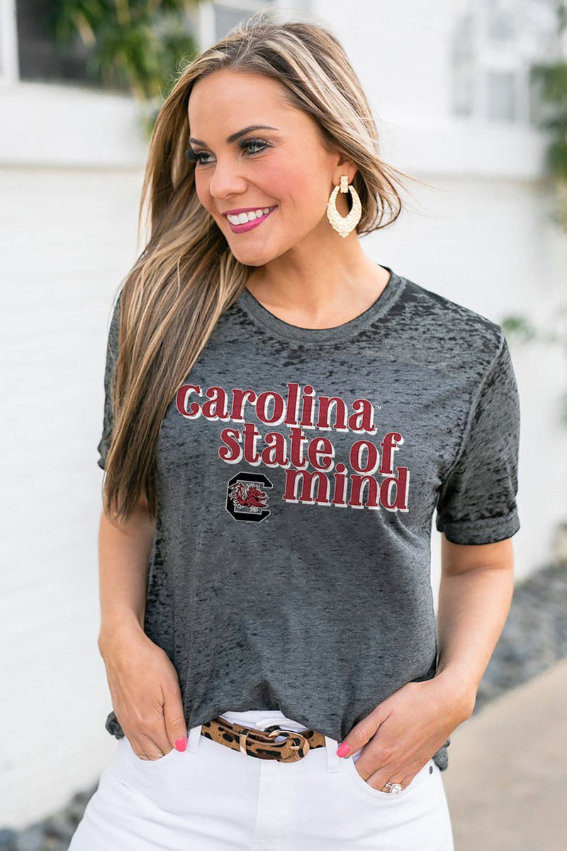 "SOUTH CAROLINA GAMECOCKS ""BETTER THAN BASIC"" BOYFRIEND TEE - Gameday Couture"