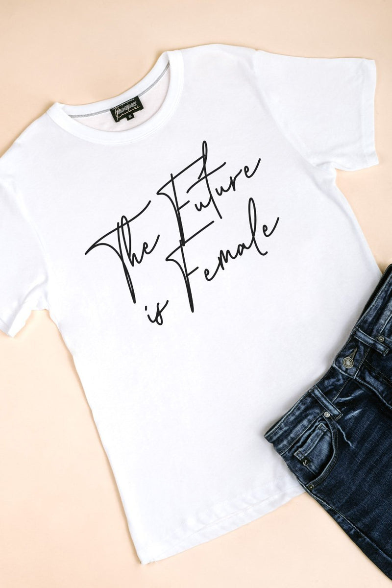 "The ""Future Is Female"" Tee for Kids - Gameday Couture"
