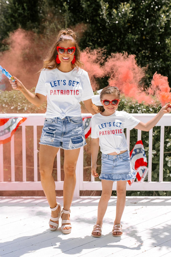"The ""Lets Get Patriotic"" Kids Tee"