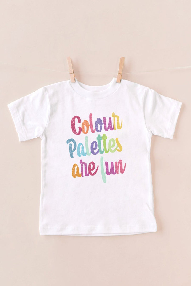 "The ""Color Palletes Are Fun"" Tee"