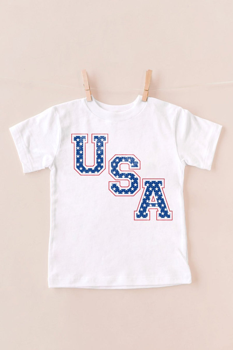 "The ""Stars And Stripes"" Kids Tee"