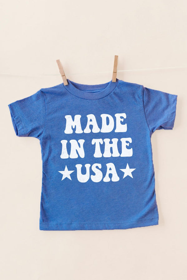 "The ""Made In The Usa"" Kids Tee - Shop The Soho"