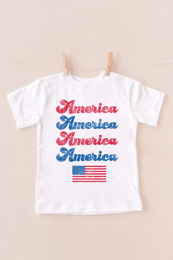 "The ""Proud To Be An American"" Kids Tee - Shop The Soho"