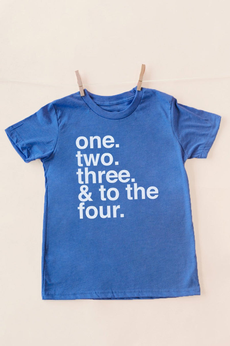 "The ""& To The Four"" Tee - Gameday Couture"