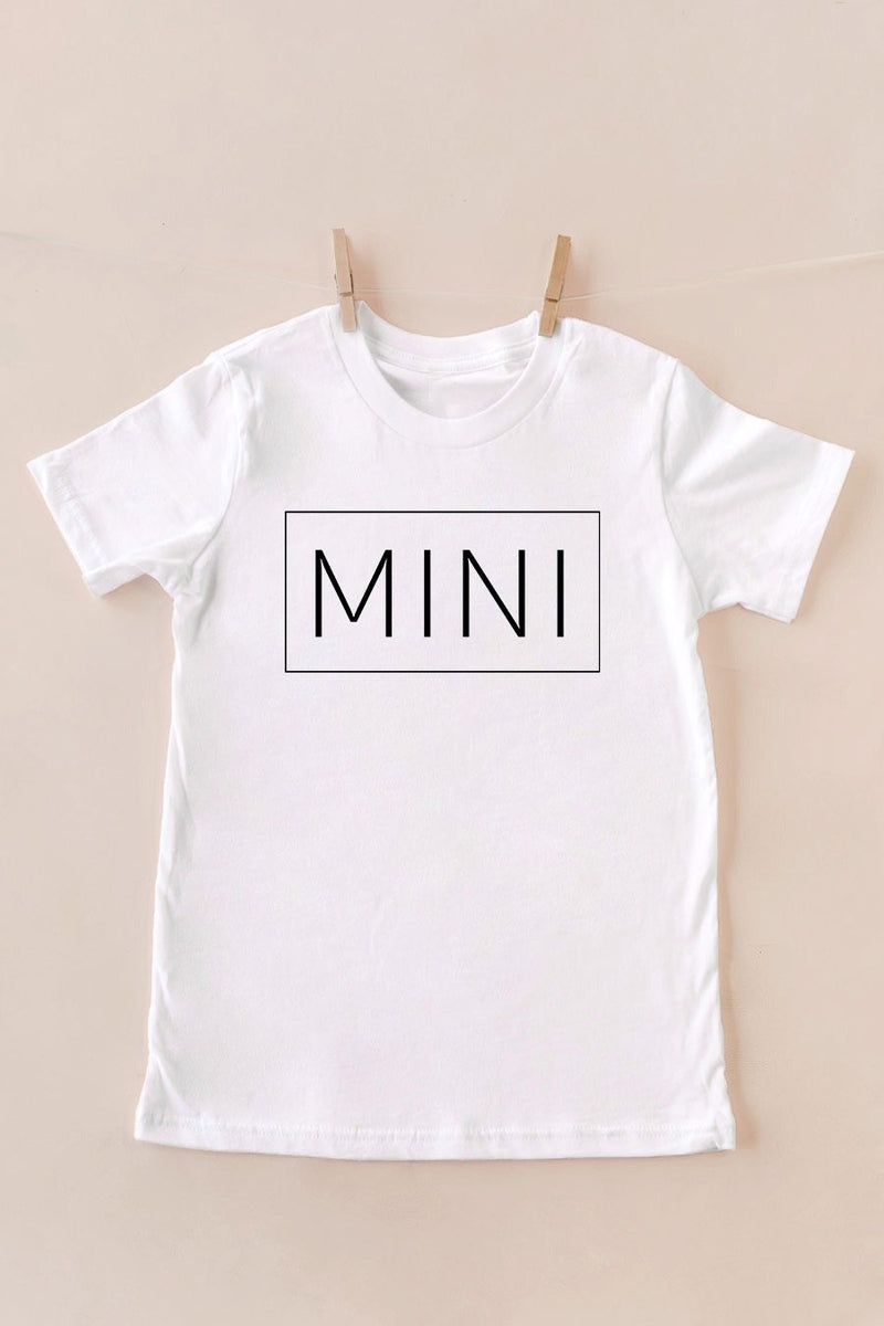 "The ""Mama and Mini"" Tee for Kids - Gameday Couture"