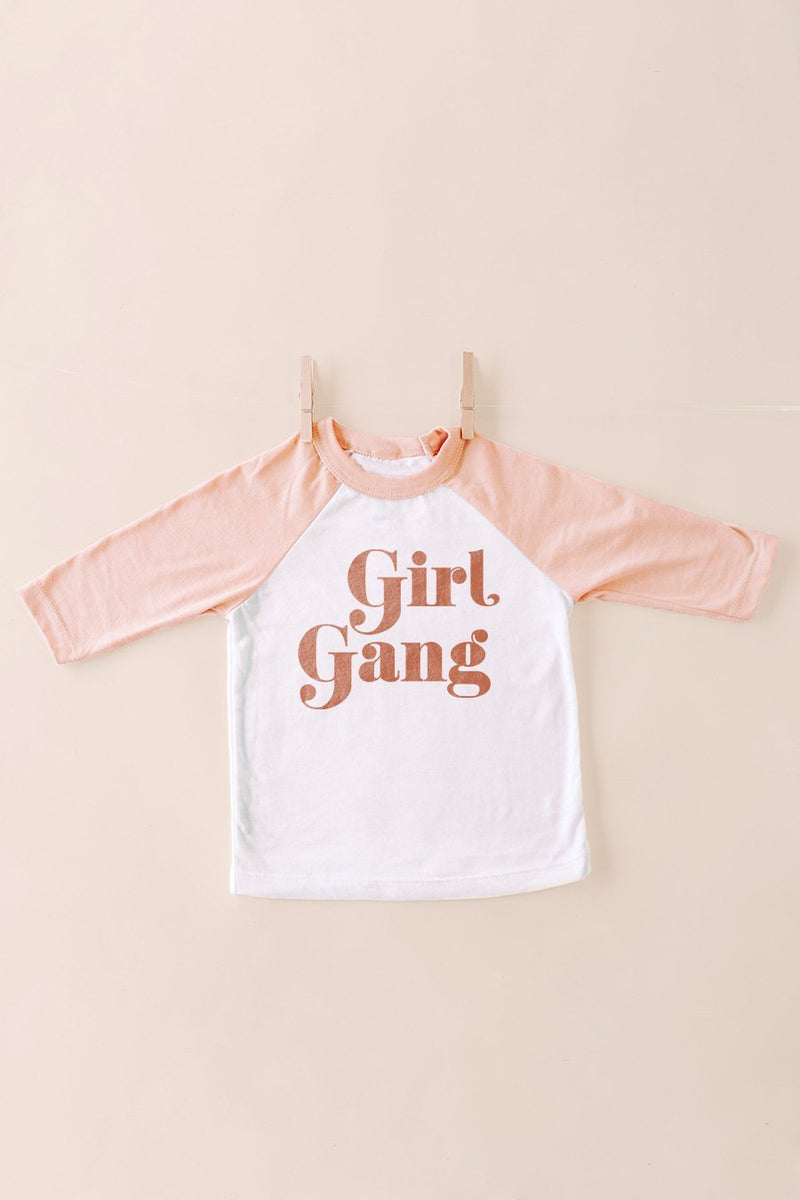 "The ""Girly Gang"" Tee for Kids - Gameday Couture"