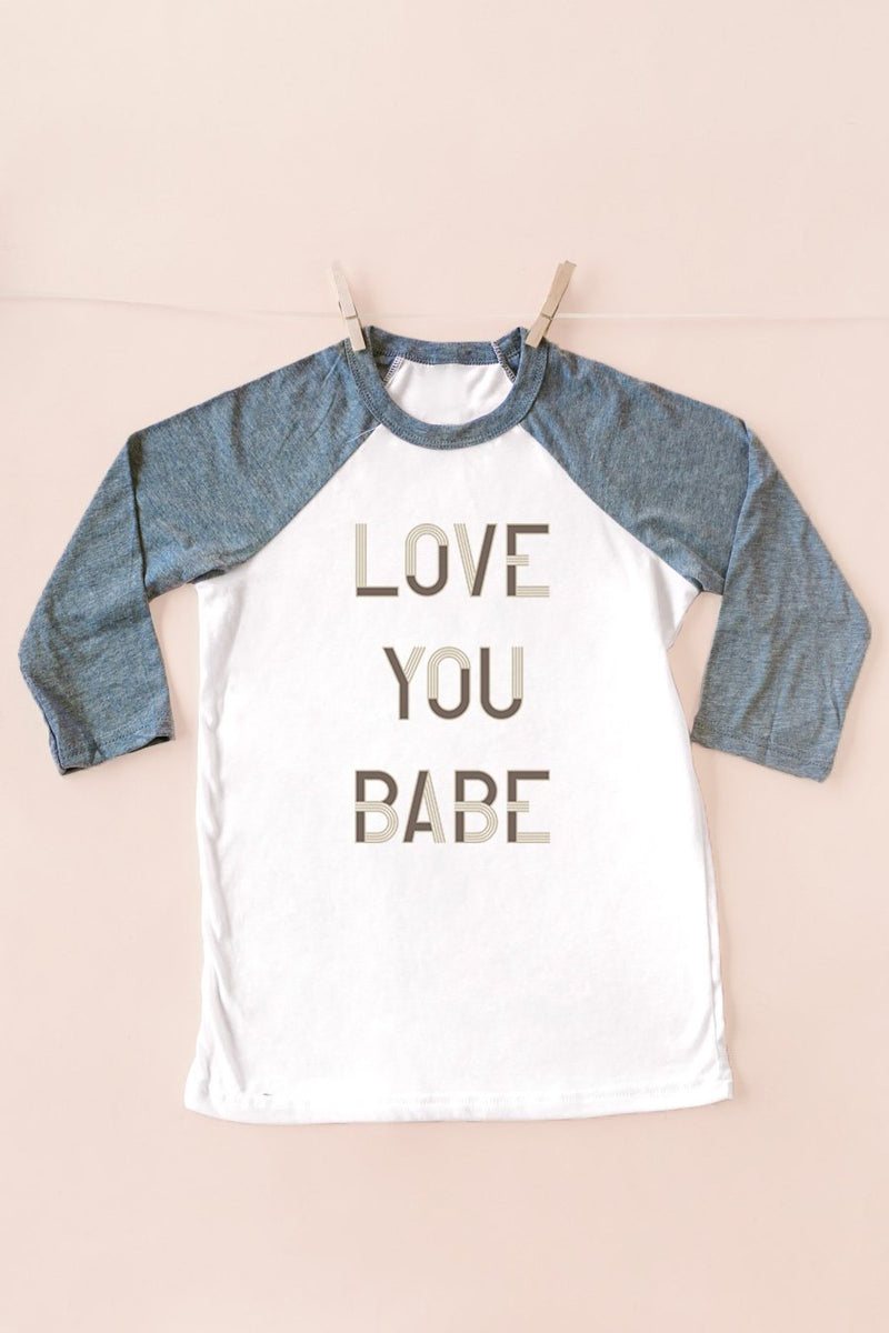 "The ""Love You Babe"" Tee For Mom - Gameday Couture"