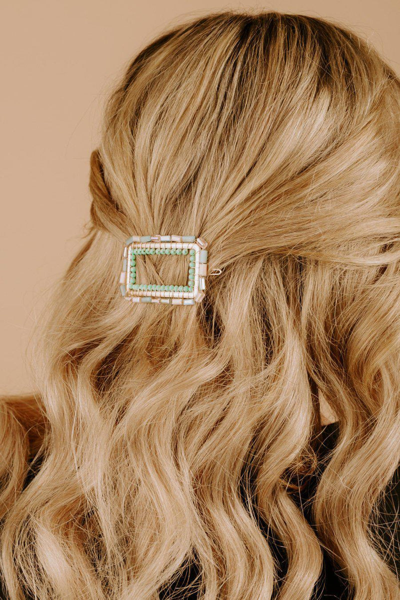 "The ""Adore Me"" Hair Clip in Multi"
