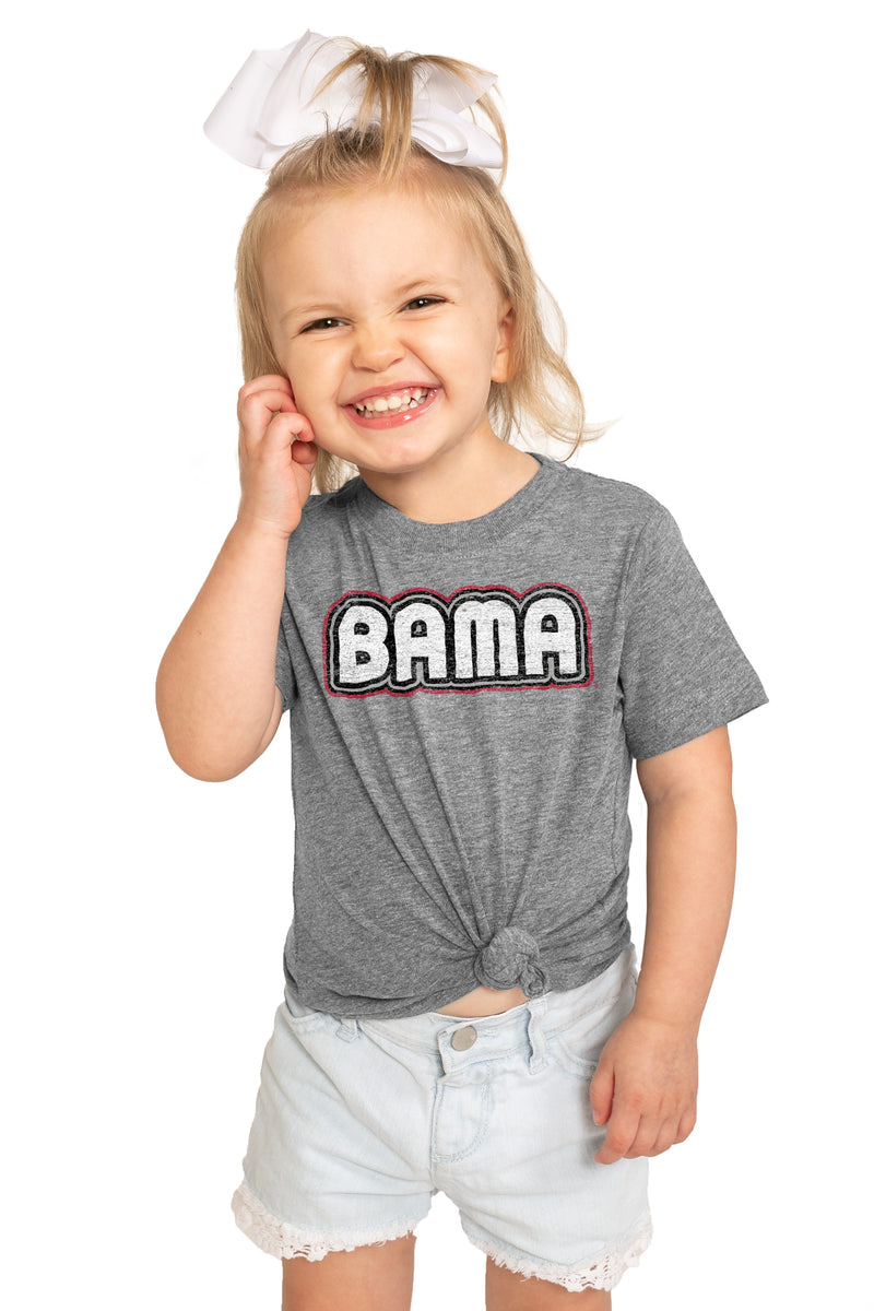 "Alabama Crimson Tide ""It's a Win"" Crewneck Toddler Tee - Gameday Couture"