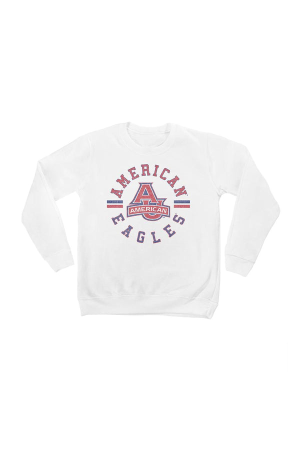 "AMERICAN UNIVERSITY EAGLES ""VINTAGE DAYS"" YOUTH PERFECT CREW SWEATSHIRT"