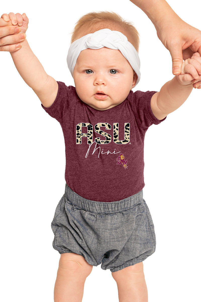 "Arizona State Sun Devils ""Untamed Mini"" Onesie - Gameday Couture"