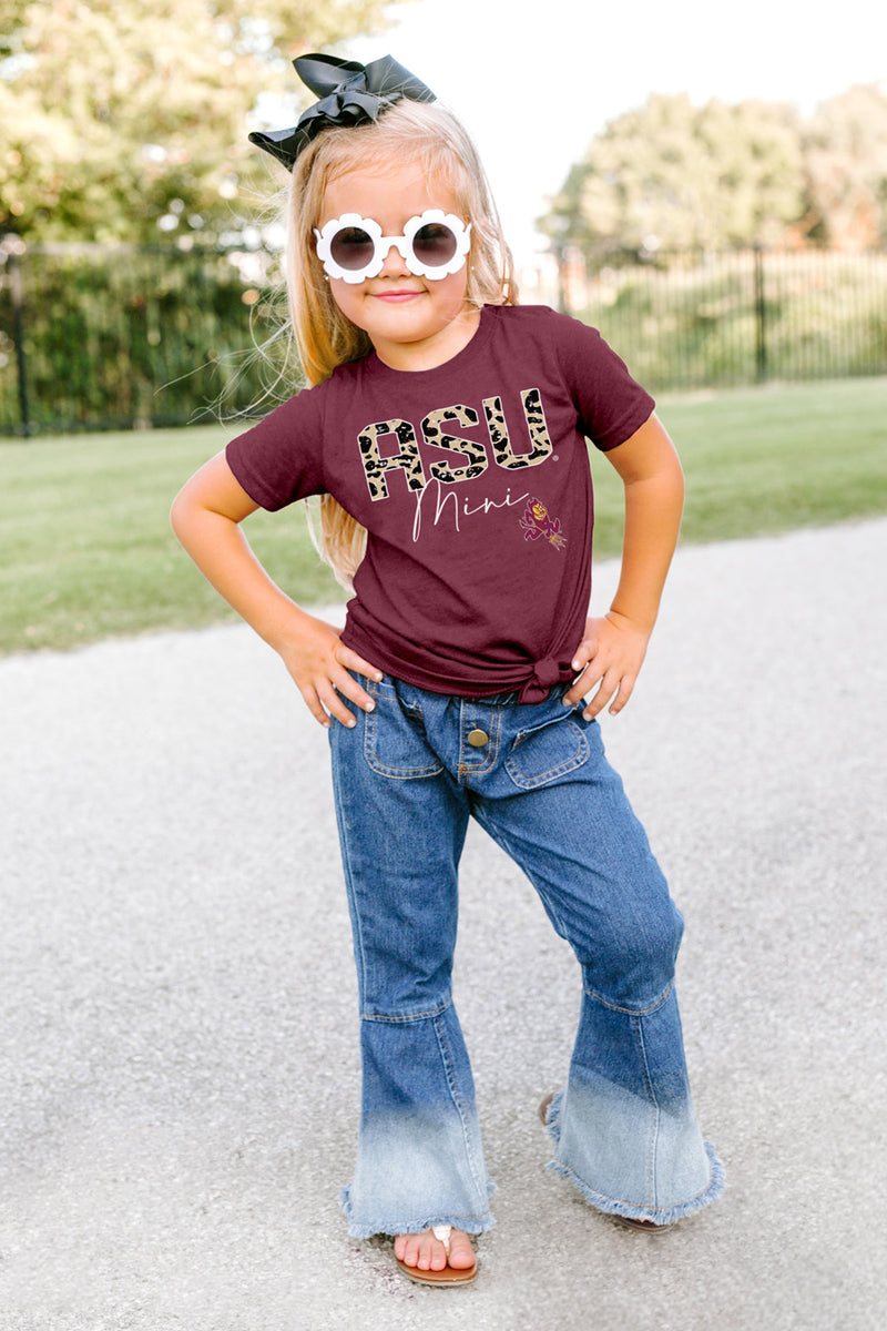 "Arizona State Sun Devils ""Untamed Mini"" Toddler Tee - Gameday Couture"