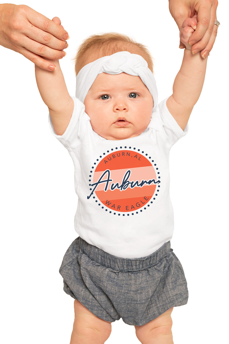 "Auburn Tigers ""Faded and Free"" Onesie - Gameday Couture"
