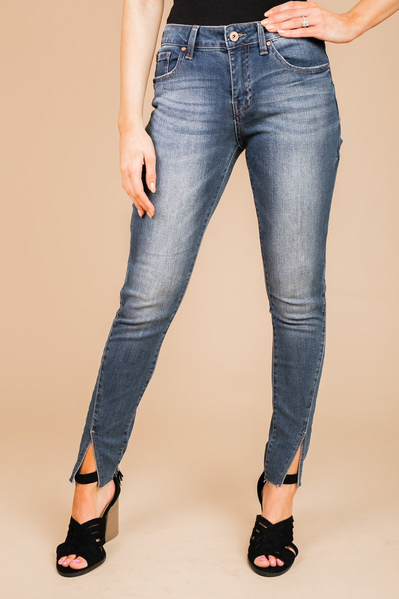 "The ""Audrey"" Denim Jeans - Gameday Couture"