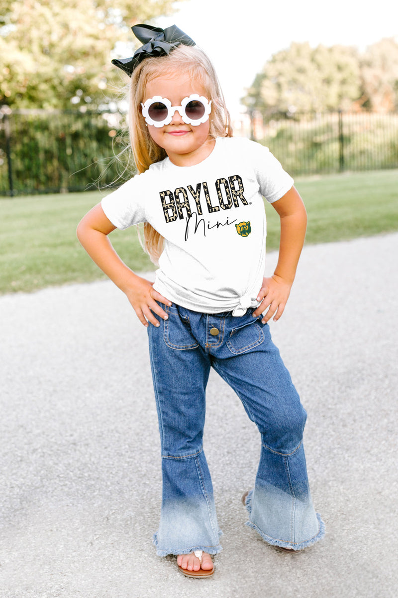 "Baylor Bears ""Untamed Mini"" Toddler Tee - Gameday Couture"