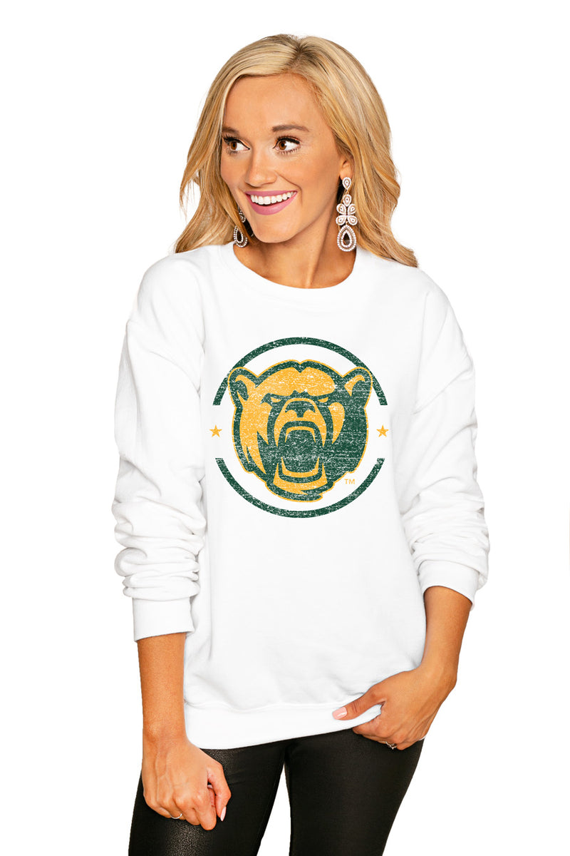 "BAYLOR BEARS ""END ZONE"" PERFECT COZY CREW SWEATSHIRT - Gameday Couture"