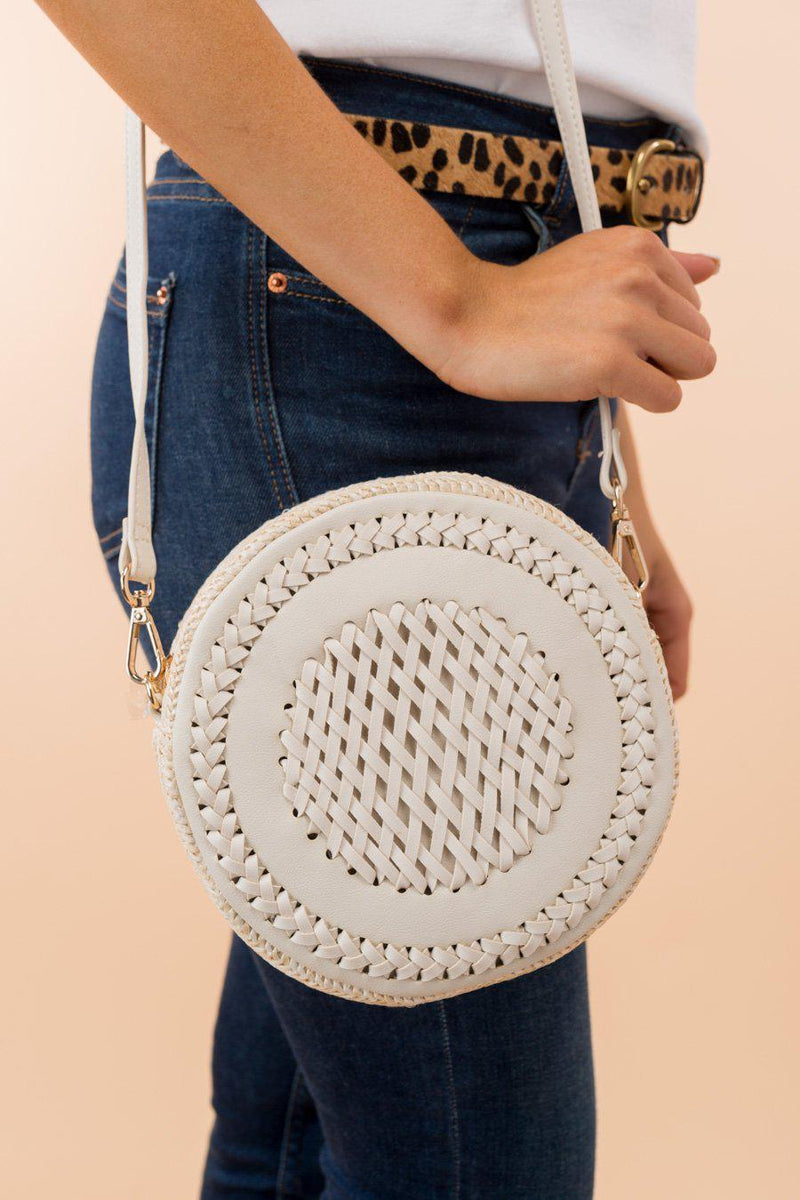 "The ""Beyond Obsessed"" Circle Crossbody Bag - FINAL SALE - Gameday Couture"