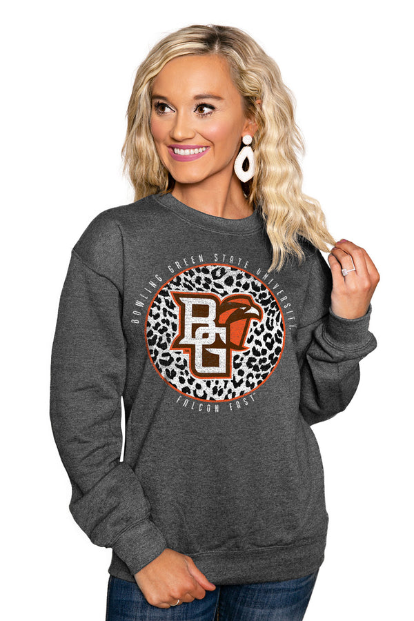 "BOWLING GREEN FALCONS ""CALL THE SHOTS"" Perfect Crew Sweatshirt - Gameday Couture"