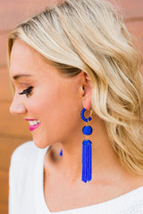 "The ""Buzzworthy"" Earrings - FINAL SALE - Gameday Couture"