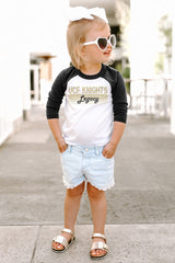 "Central Florida Knights ""Campus Legacy"" Toddler Raglan - Gameday Couture"