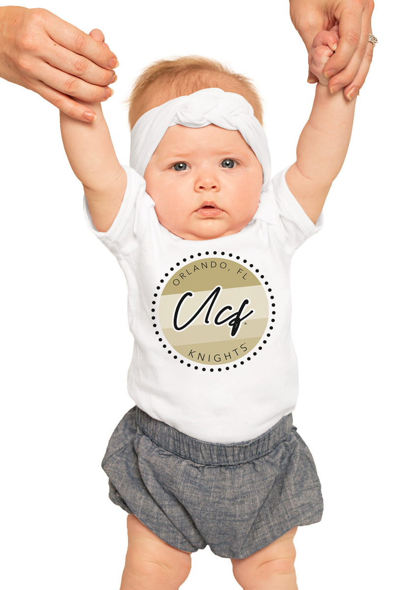 "Central Florida Knights ""Faded and Free"" Onesie - Gameday Couture"