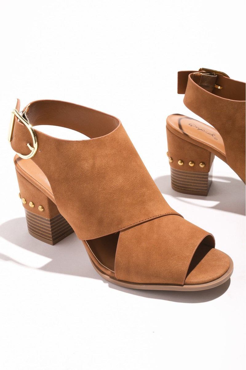 "The ""Chic Situation"" Heel in Brown - Gameday Couture"