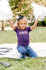 "Clemson Tigers ""It's a Win"" Crewneck Toddler Tee - Gameday Couture"