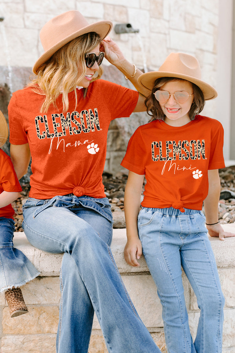"Clemson Tigers ""Untamed Mama"" Boyfriend Top - Gameday Couture"