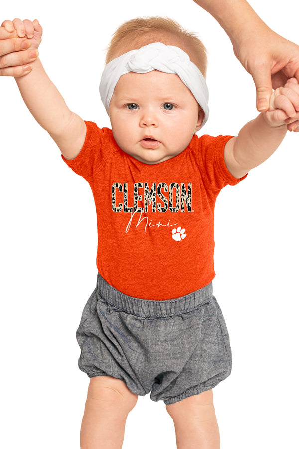 "Clemson Tigers ""Untamed Mini"" Onesie - Shop The Soho"