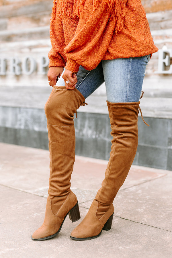 "The ""Control The Scene"" Over The Knee Boots"