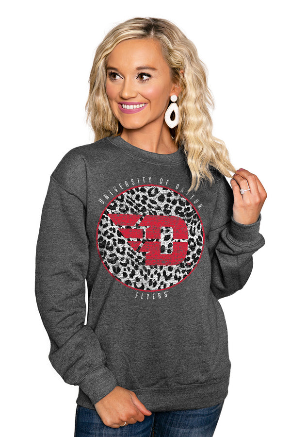 "DAYTON FLYERS ""CALL THE SHOTS"" Perfect Crew Sweatshirt - Gameday Couture"