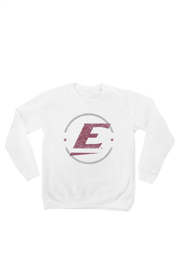 "EASTERN KENTUCKY COLONELS  ""END ZONE"" YOUTH PERFECT CREW SWEATSHIRT"