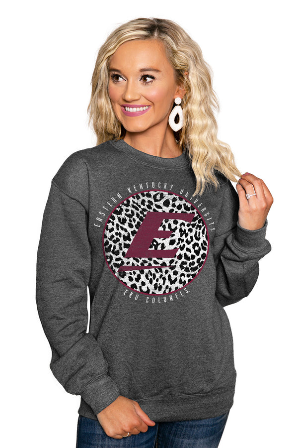 "EASTERN KENTUCKY COLONELS ""CALL THE SHOTS"" Perfect Crew Sweatshirt - Gameday Couture"