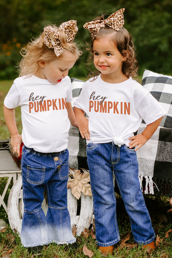 "The ""Hey Pumpkin"" Toddler Tee - Shop The Soho"