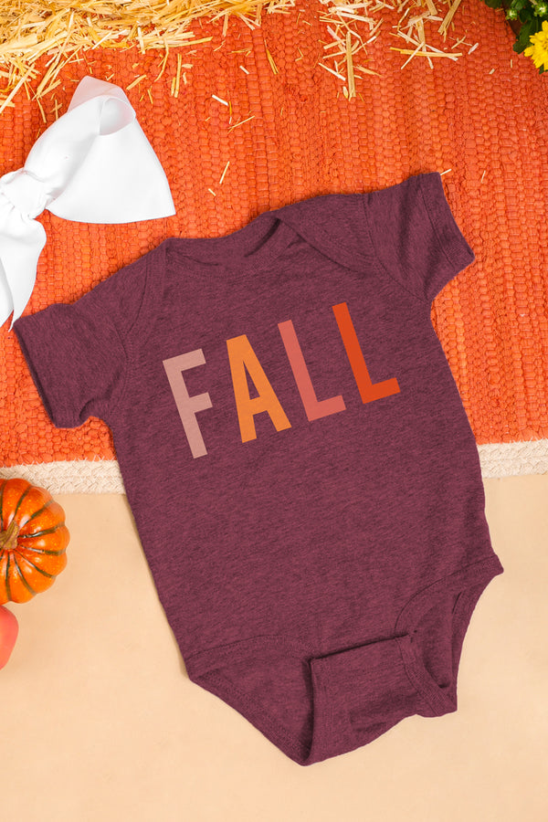 "The ""Colors Of Fall"" Onesie - Shop The Soho"